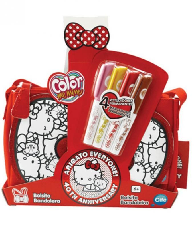 Buy Color Me Mine Coloring Hello Kitty Mini Bag - 4 Pcs in Egypt 01c20a799a40b