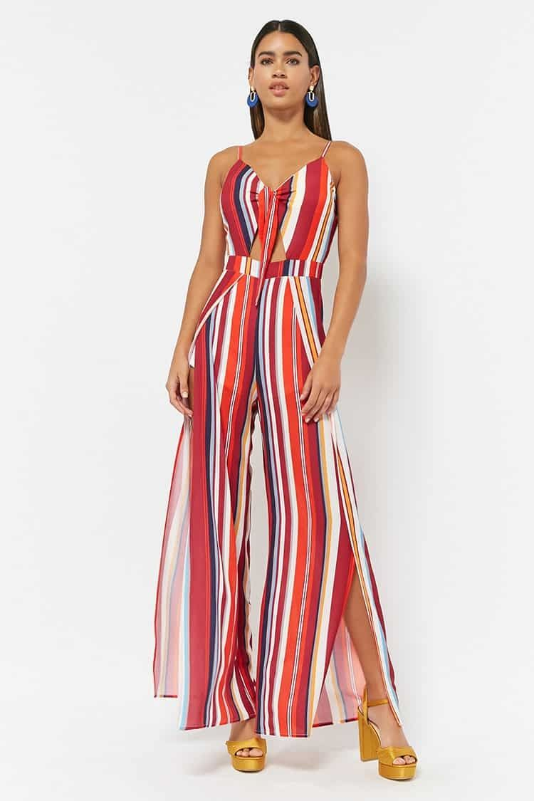 54891fc4761 Forever21 Stripe Crepe Cami Jumpsuit Price in Egypt