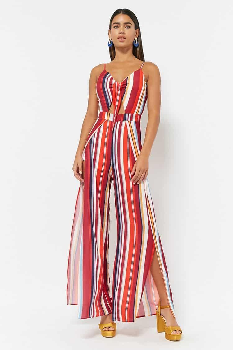 b28031ef7da3 Forever21 Stripe Crepe Cami Jumpsuit Price in Egypt