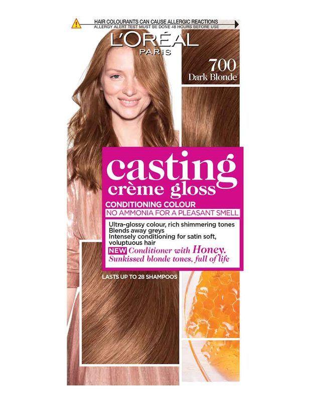 Loreal Paris Casting Crme Gloss Hair Color Blonde 700 Hair