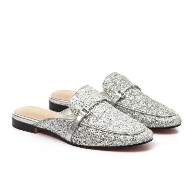 048fe418dc53 ALDO Love Glittery Heart White Sneakers With Some Gold Studdes