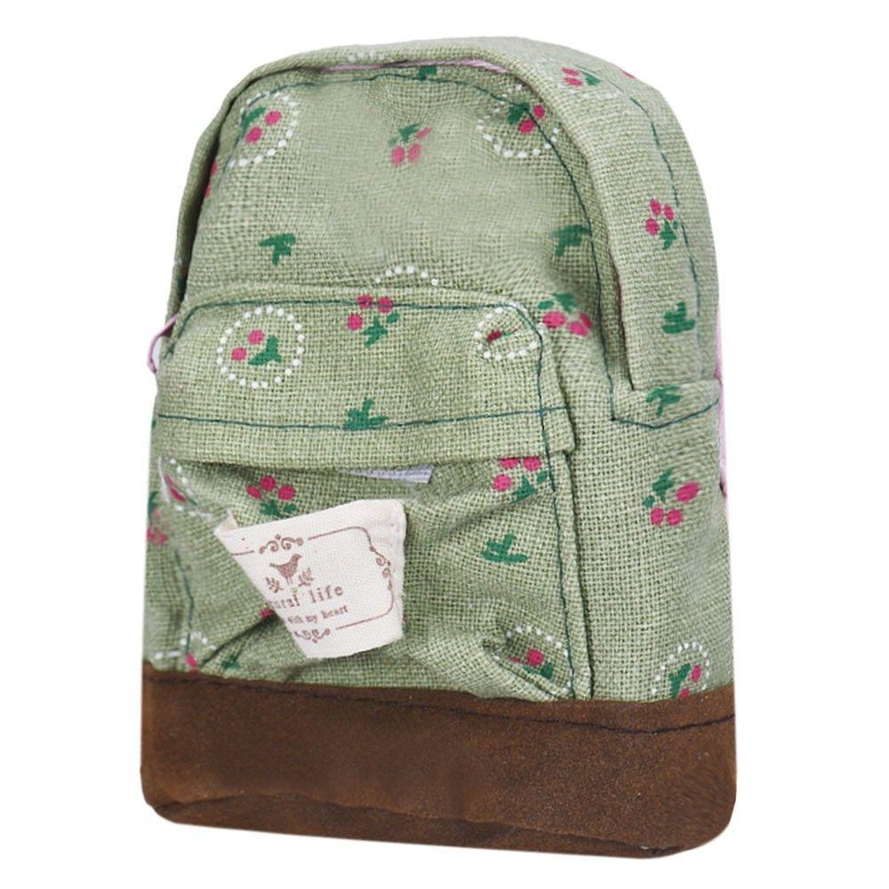 6cc10569b Generic Fashion Canvas Mini Floral Backpack Women Girls Kids Cheap Coin  Pouch. 77.00 جنية مصرى. 47.01. +64% · اشتري محفظة جلد رجالي طويلة لون بني  من سيفجينك ...