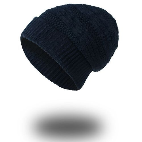 2a7f0518faa Eissely Mens Causal Warm Winter Knit Baggy Beanie Hat Ski Slouchy Head Cap  NY