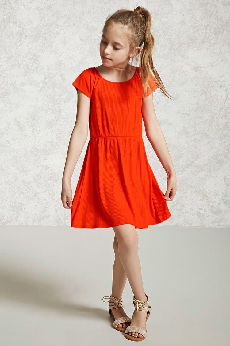 Forever21 Girls Skater Dress (Kids) Price in Egypt  0e967ac54