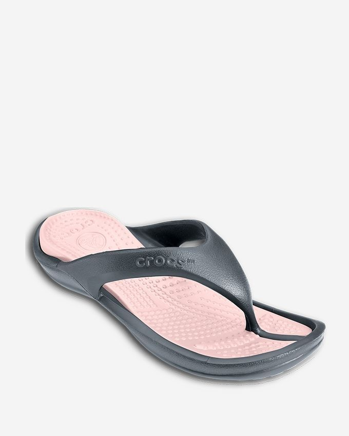 546d28140713 Crocs Athens II-Charcoal Cotton Candy