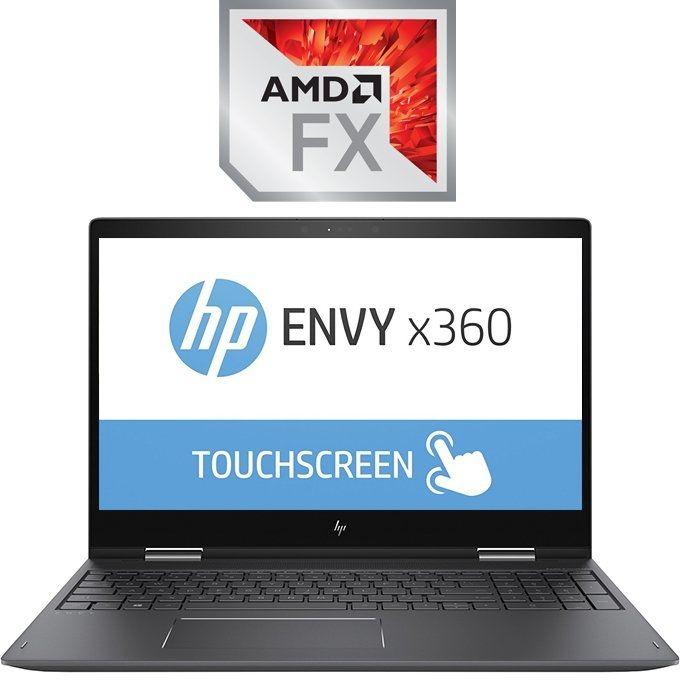 HP Envy 15-bq021dx X360 Convertible Laptop - AMD FX9800P