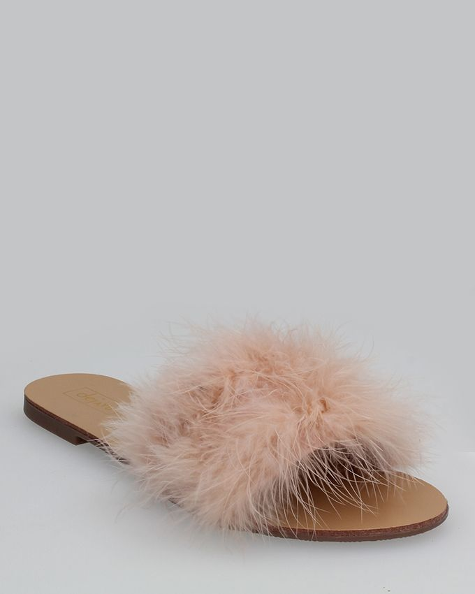 51299d1e2774 Buy Dejavu Feather Embellished Slipper Flat in Egypt