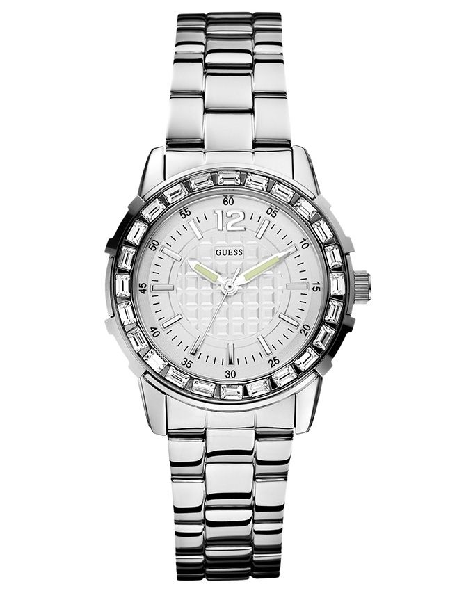 9bdf24ec0 سعر Guess W0018L1 Stainless Steel Watch - Silver فى مصر | جوميا ...
