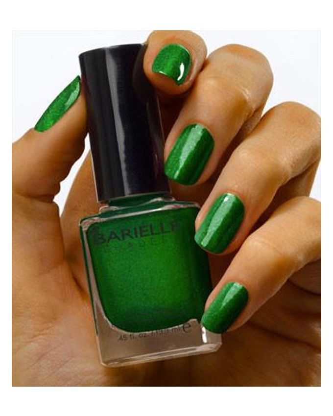Barielle 5227 Lilly Of Valley Nail Polish Irish Green With Shimmer