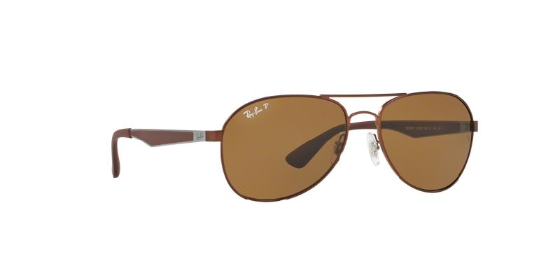 f95f54ed048 Ray-Ban RayBan® Sunglasses - Brown Polarized Lenses RB3549 012 83 ...