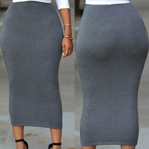 a037f05ca2 Fashion Fashion Women Skirt High Waist Slim Hip Pencil Skirts Sexy ...