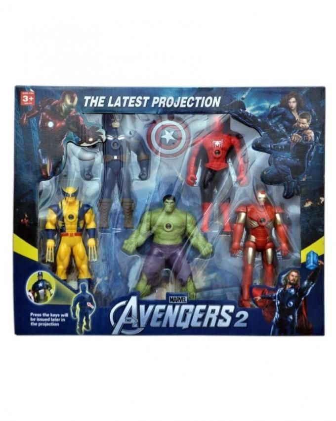 General Avengers the latest projection