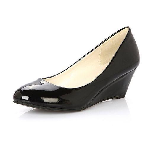 2d131ac624f Znu US Women Ladies Stiletto Wedge Round Toe High Heel Platforms Shoes Work  Offiec