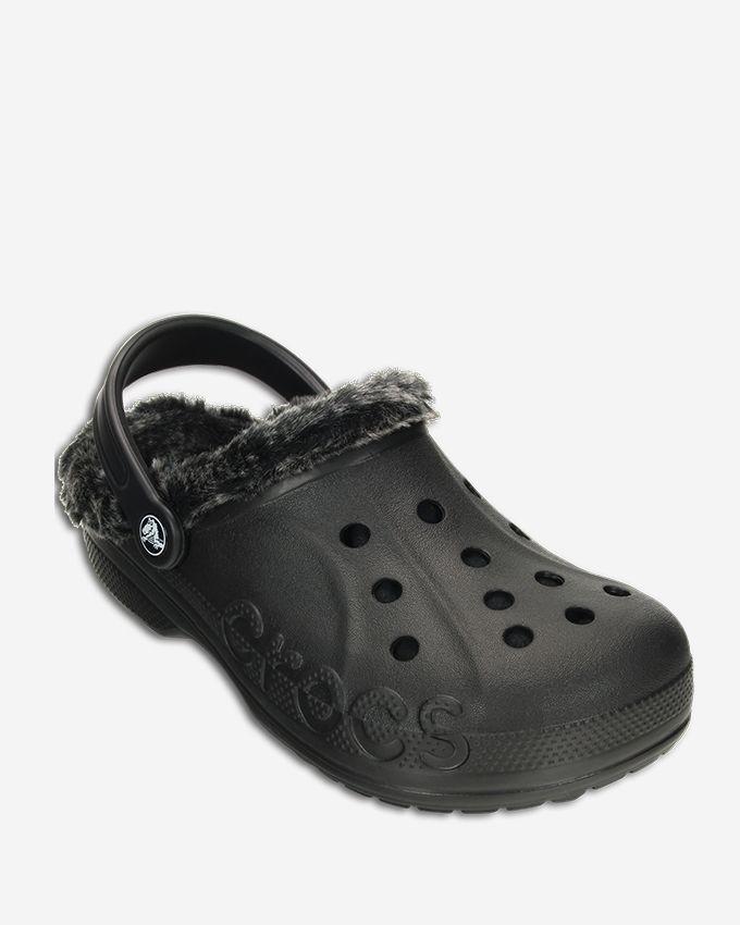 f52c51488398 Crocs Baya Fur Clog -Black Price in Egypt