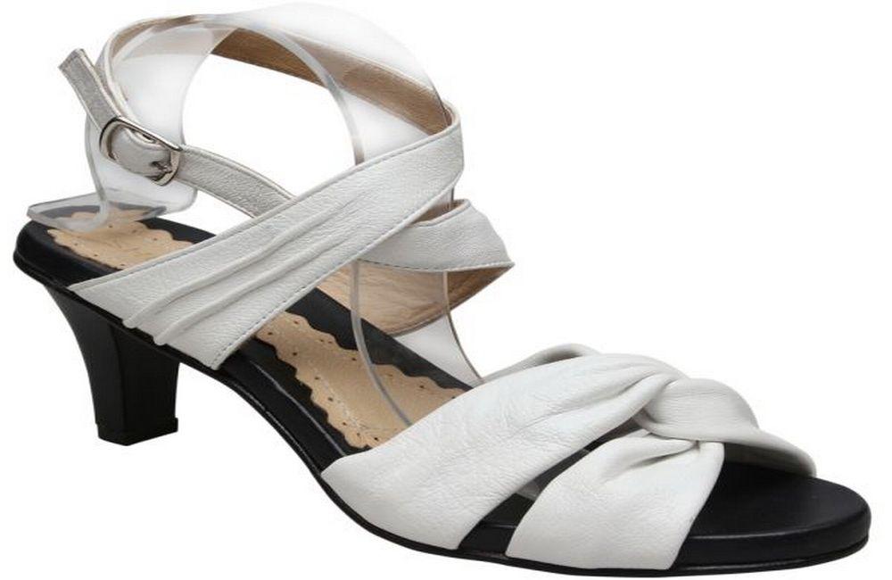 Oryx Heel Sandal - White
