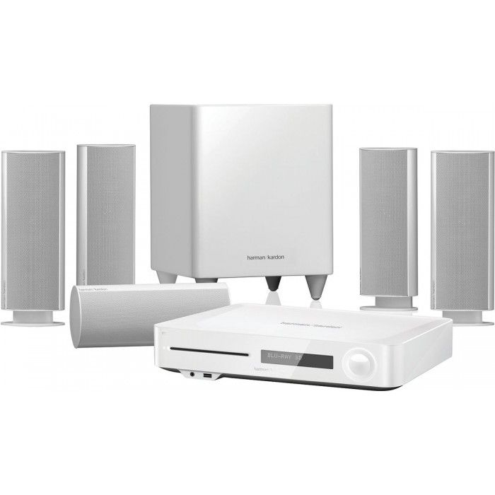 Harman Kardon Bds 780W/230-B2 Home Theater 5.1-Channel - 525-Watt - 3D Blu-Ray Disc System With Airplay - Nfc And Bluetooth Technology