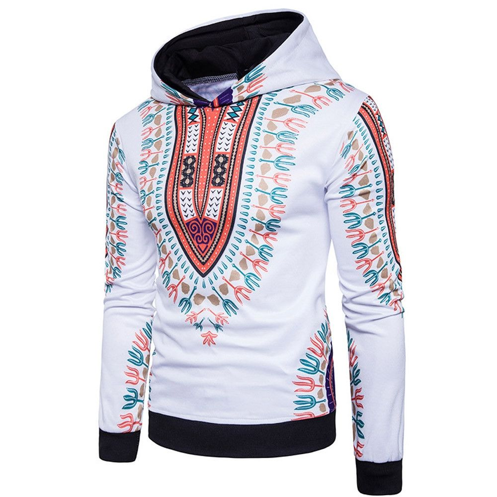 5b1201ab7 Fashion Mens' Autumn Winter 3D Print Hoodie Hooded Sweatshirt Tops Jacket  Coat Outwear