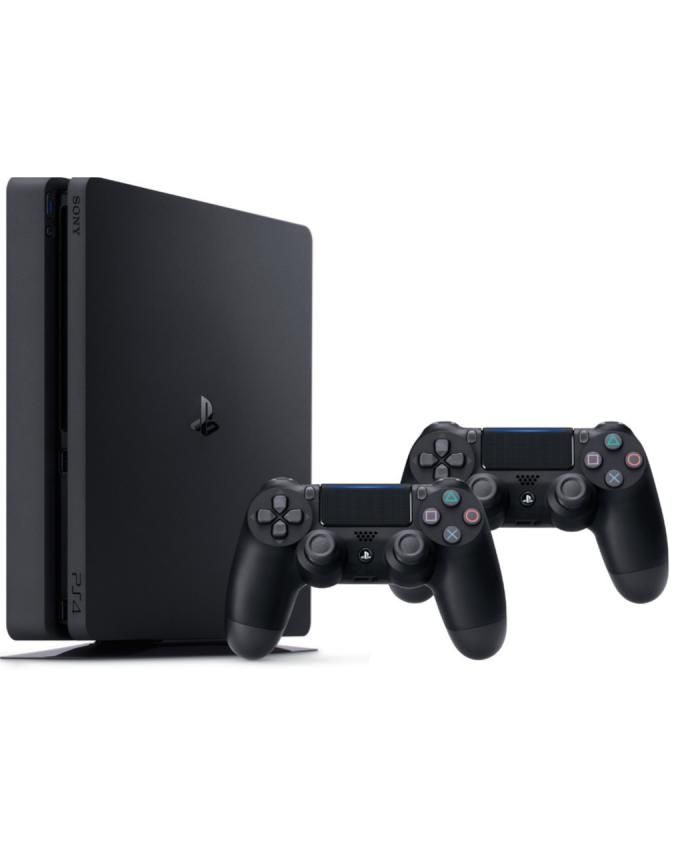 Sony PlayStation 4 Slim - 500GB with 2 Controllers