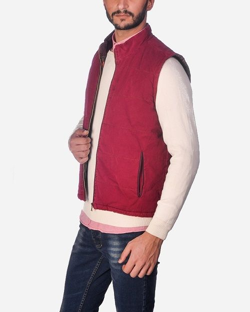 6c3606cae8578 Frame Casual Vest - Red Price in Egypt