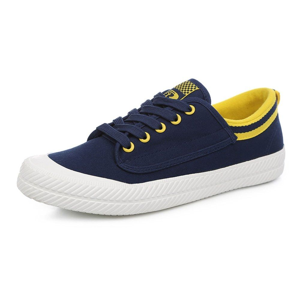 4575ed800 Kokobuy RENBEN 7310 Man Casual Canvas Shoes Student Leisure Sports Low  Upper Shoes