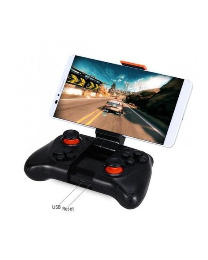 MOCUTE Wireless Gamepad Bluetooth 3.0 Game Controller Joystick for Iphone and Android Phone Tablet PC Laptop - Black