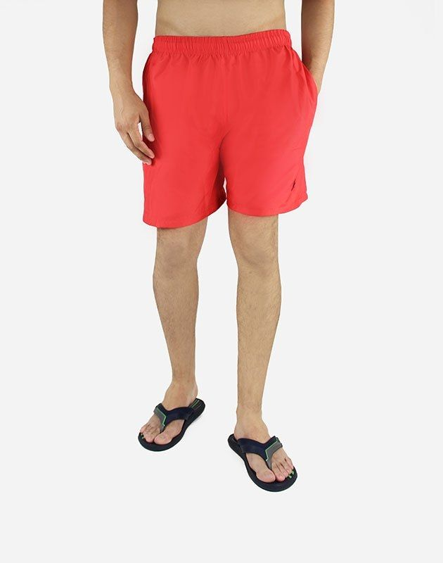 Andora Short Swimsuit Classic Fit  - Red