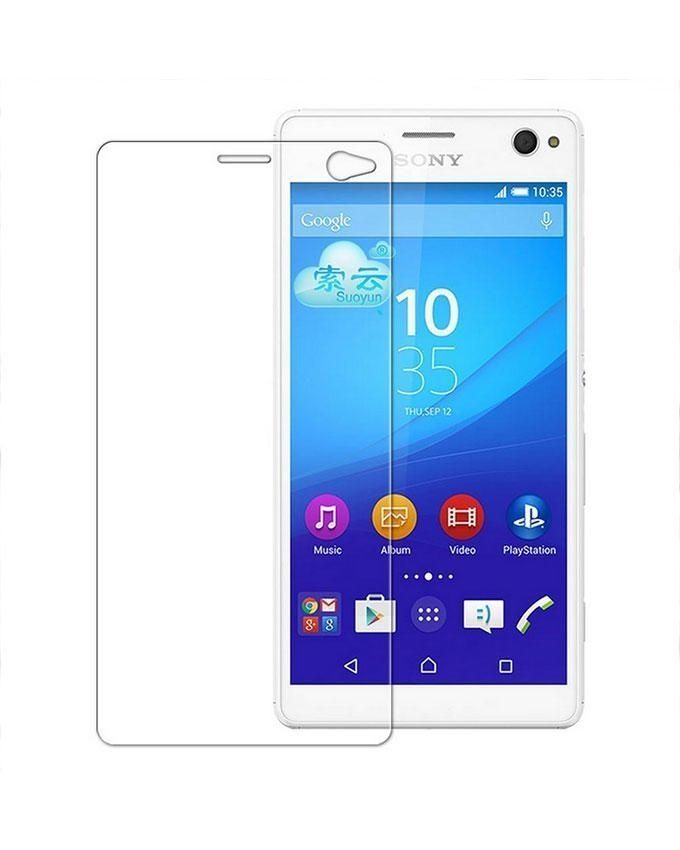 Generic Tempered Glass Screen Protector For Sony C4 - Transparent