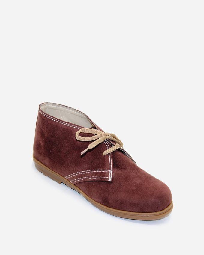 Tata Tio Desert High Neck Shoes - Brown