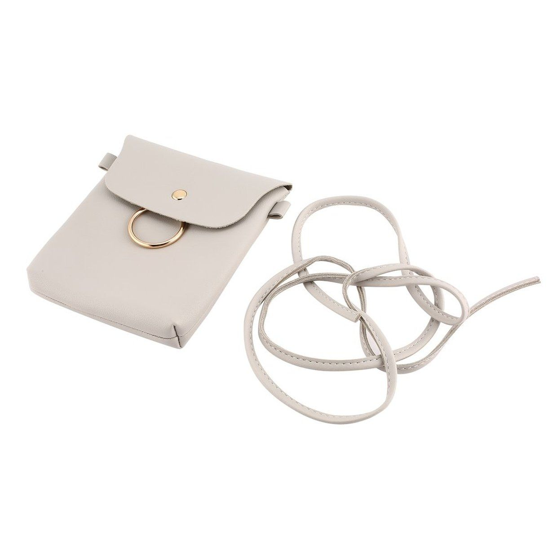 c5a365765384 Generic Fashion PU Messenger Bags Girl Women Single Shoulder Strap ...