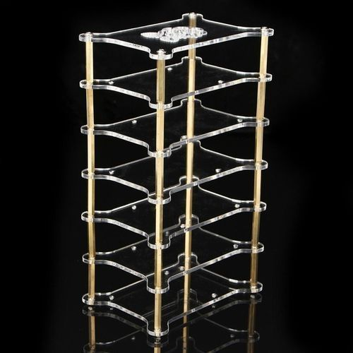 Universal Clear Acrylic Cluster Case 6 Layer Shelf Stack For