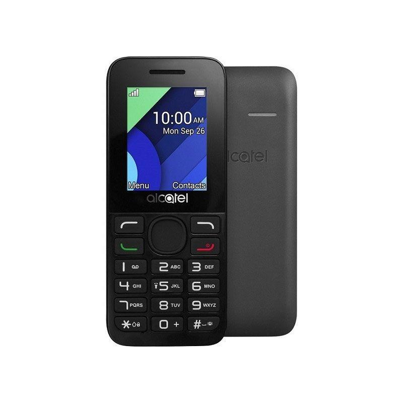 alcatel 1054d dual sim mobile phone black gray mobile phones rh kanbkam com