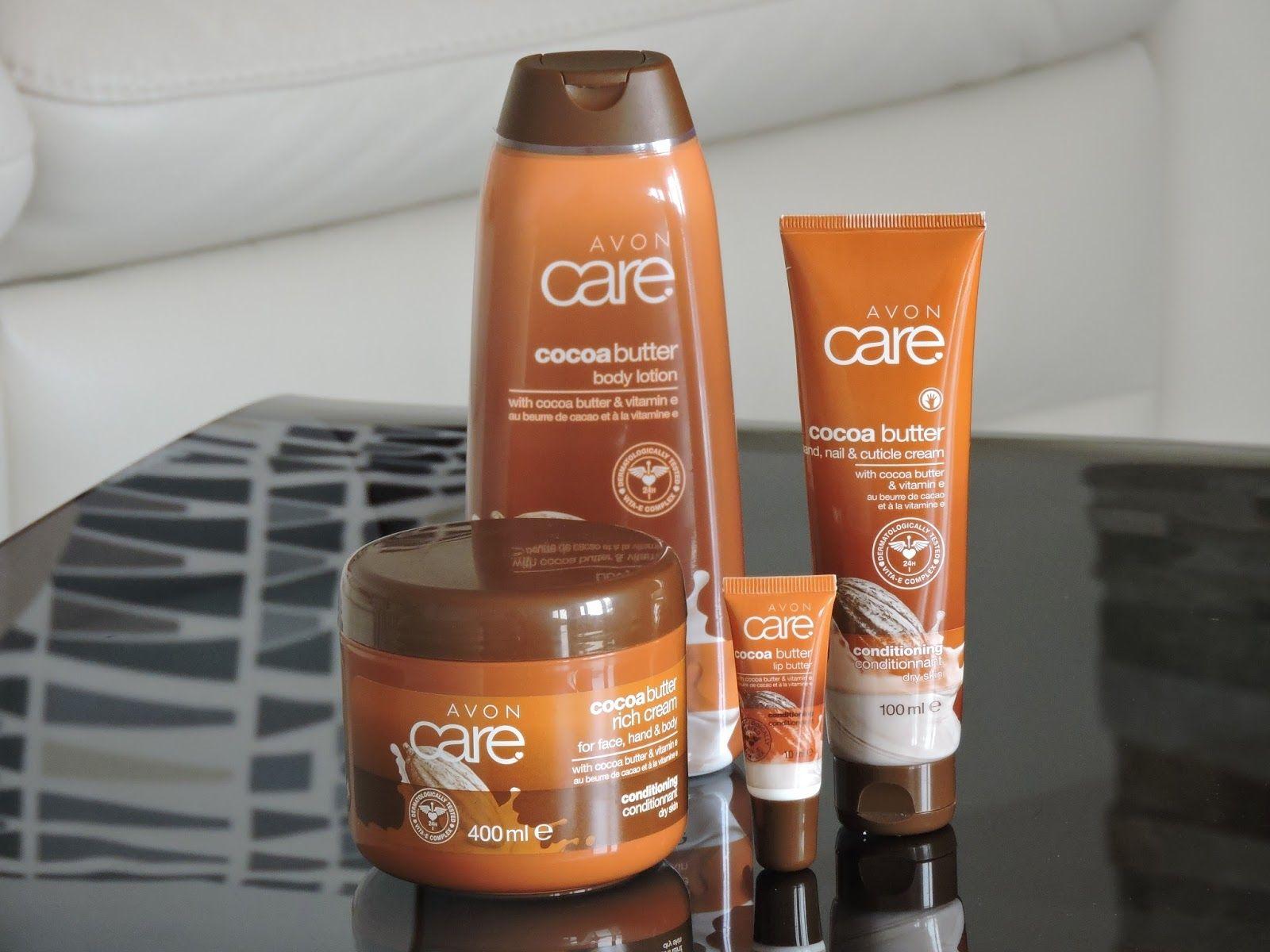 Avon Cocoa Butter Pack Body Lotion 400ml Hand Cream 100ml Sp Lip 10ml