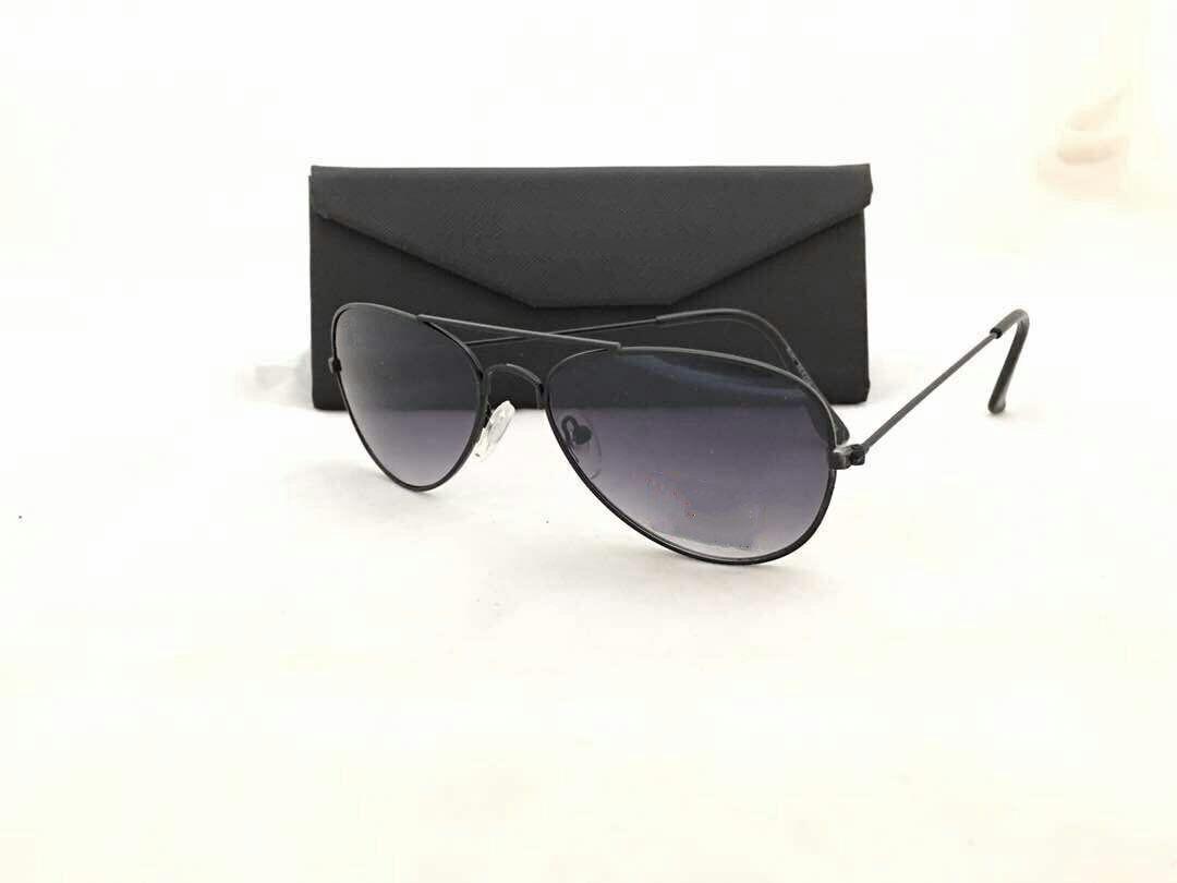f837542792b Generic Sunglasses aviator shape - with black lenses and black frame ...