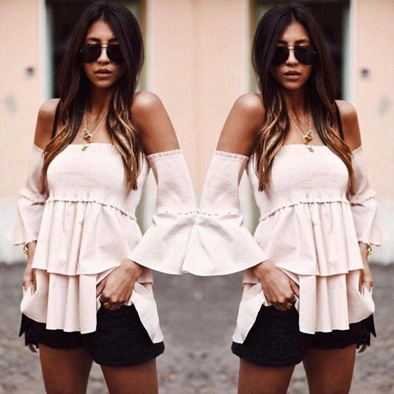 797f7642165 Fashion YOINS Women New High Fashion Clothing Casual Off The ...