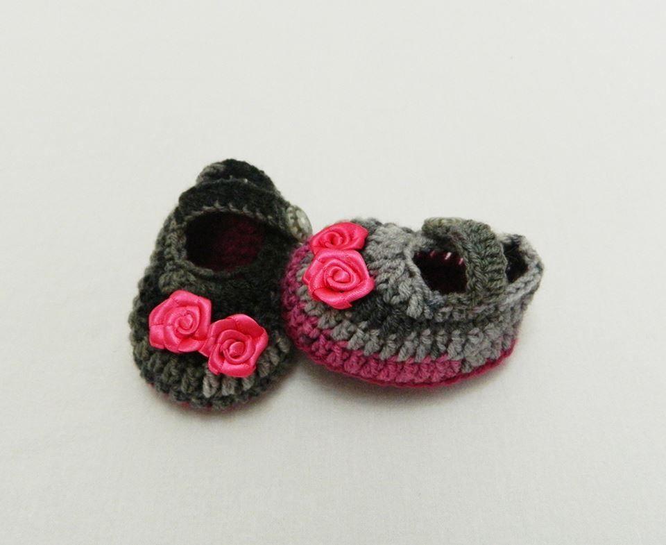 Babybee Handmade Wool Baby Shoes - Pink  e6a0d0d8b54f
