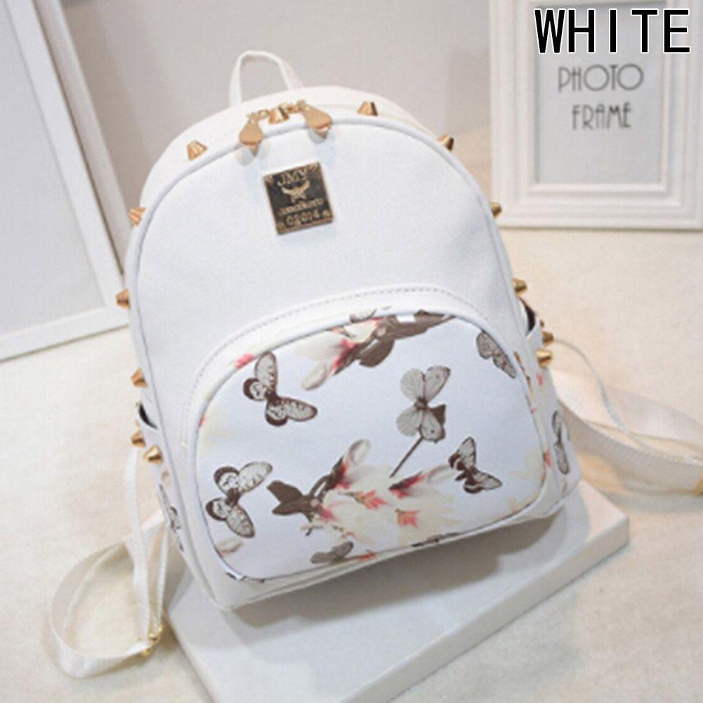 Fashion New Fashion Korean Casual Ladies PU Leather Mini Cute Women Leather  Backpacks Travel Rucksack Handbags Student School Bag ac253fd79b4e6