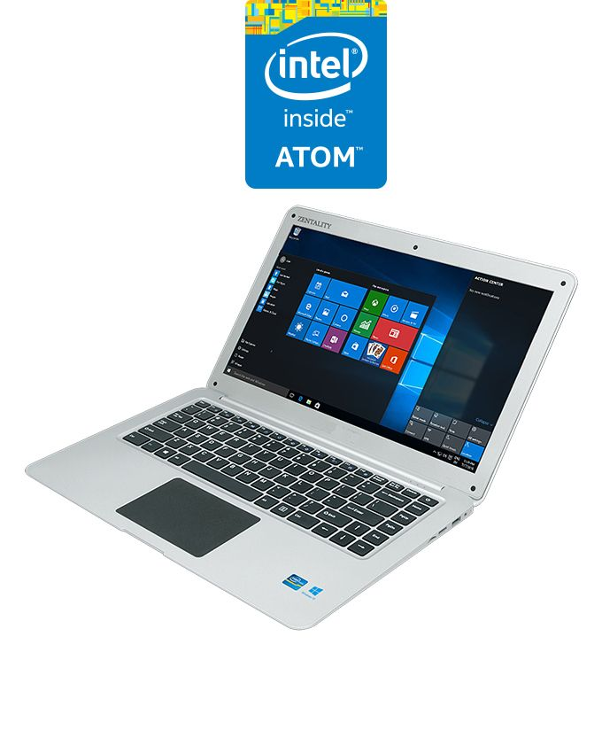 Zentality zenair laptop intel atom 2gb ram 32gb ssd 141 zentality zenair laptop intel atom 2gb ram 32gb ssd 141 hd intel gpu windows 10 trial silver ccuart Image collections