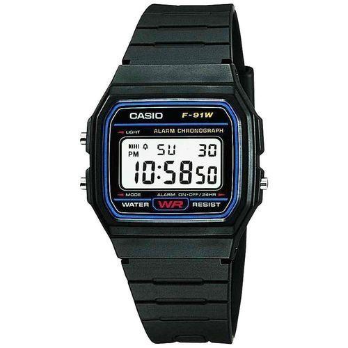 0bb1374323fd1 سعر Casio F-91W-1D Resin Watch - Black فى مصر