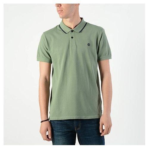 77018caeb سعر Timberland Timberland Pique Slim - Men's Polo T-shirt (CA1KBSJ02 ...