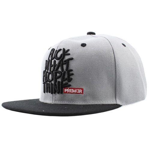 Fashion Fashion Snapback Baseball Cap Hat Visor Hat Wild Personality Hip  Hop Hats For Men Women Grey 64242349b3
