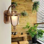 Wall Mount LED Light Lamp Outdoor Garden Exterior Porch Patio Wa