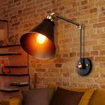 Vintage Retro Industrial Swing Arm Sconce Wall Light Loft Lamp Lighting Fixture
