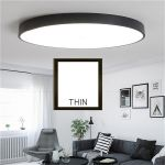 Round LED Ceiling Down Light Fixture Home Bedroom Living Room Surface Mount