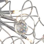 Modern Crystal Chandelier With 9-Light Lamp Ceiling
