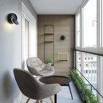 Creative Bedside Wall Lamp Modern Round LED Wall Lamp Bedroom Night Light