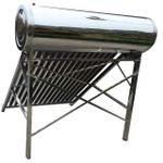 CNG 250-58/1800 Stainless Steel Solar Water Heater – 250L - Silver
