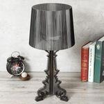 Pineberry Modern Crystal Table Desk Beside Shade Lamp Light Vintage Retro