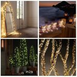 Outdoor String Lights  Dimmable 100 LEDs String Lights