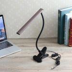 Loveliness LED Desk Table Lamp USB Dimmable Eye Care Bedside Reading Study Room Light Gift