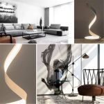 Eye Protection Desk Light LED Table Lamp Bedroom Bedside Spiral Warm Reading Lamp Modern Simple Curved Dimmable Table Lamp(white Light)